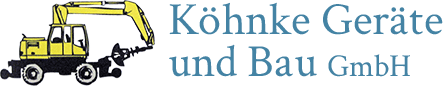 Köhnke Geräte und Bau GmbH - Logo